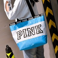 VS PINK new line of women's single shoulder print foldable travel bags