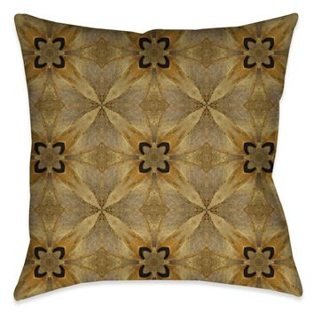 Golden Magnolia Indoor Decorative Pillow