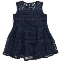 Bardot Junior Linear Lace Dress (Baby Girls & Toddler Girls) | Nordstrom