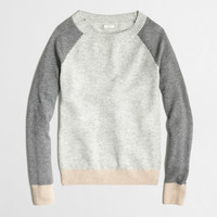 Factory waffle sweater in colorblock : waffle | J.Crew Factory