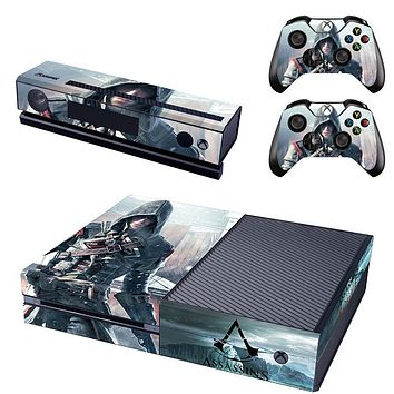 Assassins Creed Vinyl Cover Skin Sticker for Xbox One & Kinect & 2 controller skins
