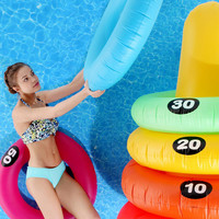 Giant Ring-Toss Pool Game