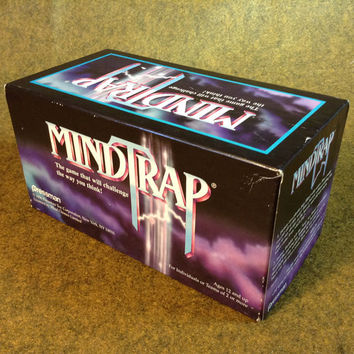 Vintage Mindtrap Game Complete. by Pressman 1996 - Challenge the way you Think