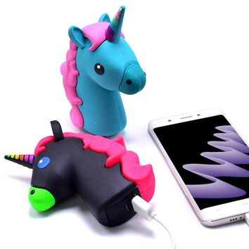 Unicorn portable powerbank 8800mah cell phone battery charger