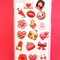 Pink Emojis Phone Case