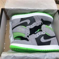 Air Jordan 1 Retro HIGH OG 555088-070 Antifue Grey