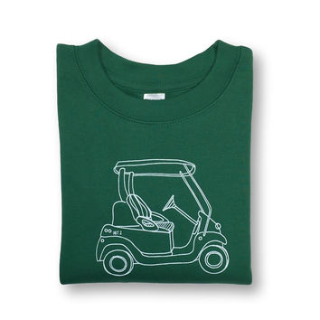 Golf Cart Long Sleeve Tee