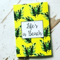 2016/2017 Weekly Planner- Life's A Beach Yellow
