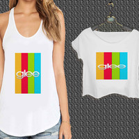 GLEE 2 For Woman Tank Top , Man Tank Top / Crop Shirt, Sexy Shirt,Cropped Shirt,Crop Tshirt Women,Crop Shirt Women S, M, L, XL, 2XL*NP*