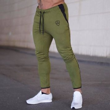 Sport Pants Men Elastic Breathable Sweat Pants Running Training Pants Basketball Jogging Trousers