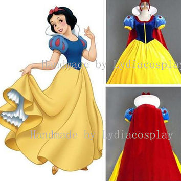 Shop Etsy Snow White Dress on Wanelo