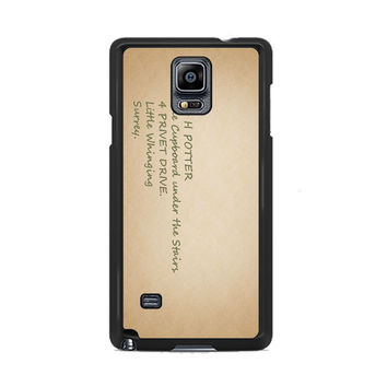 Harry Potter Address Samsung Galaxy Note 3 | 4 Cover Cases
