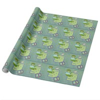 Vidaloca Bear Love is a Baby Wrapping Paper