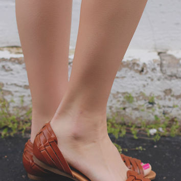 Reckless Soul Sandals - Whiskey