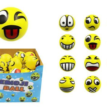 Emoji Foam Ball (Medium) - CASE OF 30