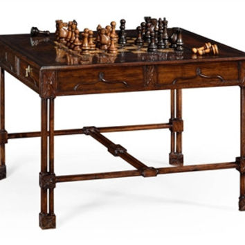 Chippendale gothic games table