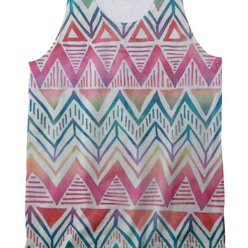 Tribal Art Tank Top Full Print