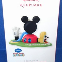 2013 Mickey Mouse Clubhouse Hallmark Disney Retired Ornament