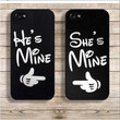 She's Mine / He's Mine iPhone 5 Cases - 2 Variants