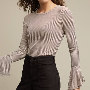 Toastworthy Bell-Sleeve Top