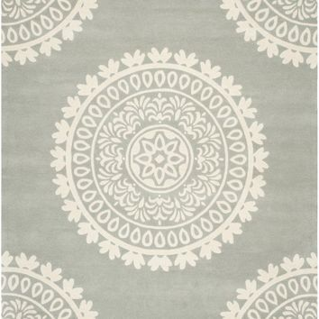Bella Transitional Indoorarea Rug Grey / Ivory