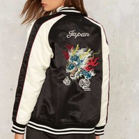 Dragon Side Out Bomber Jacket