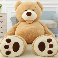 Giant Jumbo Soft 6ft Tall Brown Teddy Bear