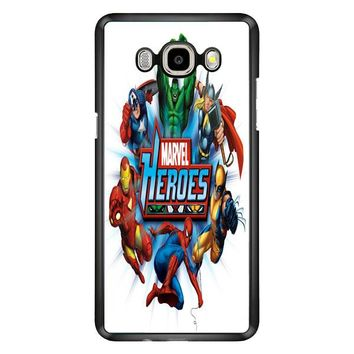 Marvel Heroes And Comic Book Samsung Galaxy J7 Case | Casefruits