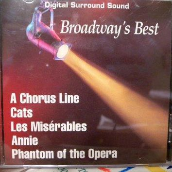 Broadway's Best/A Chorus Line, Cats, Les Miserables, Annie, Phantom of the Opera