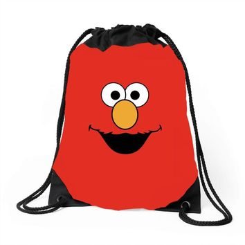 Cookie Monster Elmo Drawstring Bags