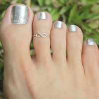 Simple Sliver Golden Plated Retro Toe Ring Foot Jewelry Bague Femme Beach Jewelry Ring For Women J4U66