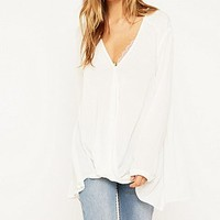 Light Before Dark Willow Blouse - Urban Outfitters
