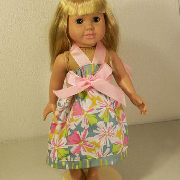 American girl Doll Dress-Dora Swing Dress--Made in the USA