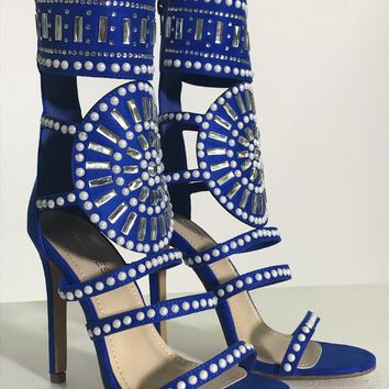 Shooting Star Heels - Royal Blue