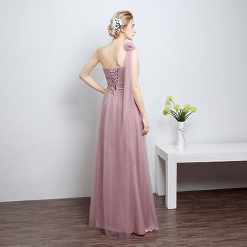2 Color Prom Dresses Arrival Ever Pretty Dresses Sweetheart One Shoulder Elegant Long Prom Dresses