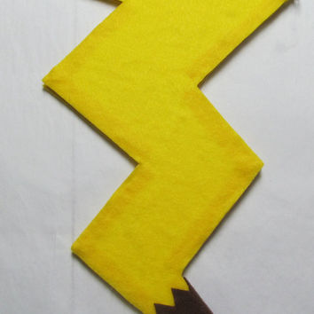 Pokemon Pikachu Tail Cosplay Costume by AGypsyRed on Etsy