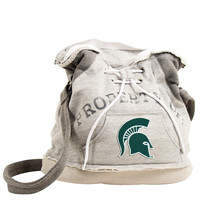 Michigan State Spartans NCAA Property Of Hoodie Duffel