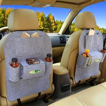 2018 Back Car Seat Organizer / Storage In Three Colors Best Seller In Europe