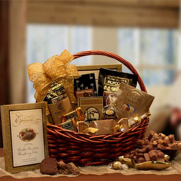 Chocolate Gourmet Gift Basket (Med)