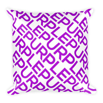 "Purple ""All Over"" Pillow"