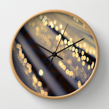 Second Star to the Right Wall Clock by The Dreamery | Society6