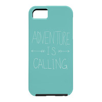 Leah Flores Adventure Typography Cell Phone Case