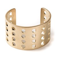 Kelly Wearstler perforated cuff