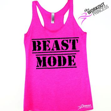 Beast Mode Gym Workout Tank for Women