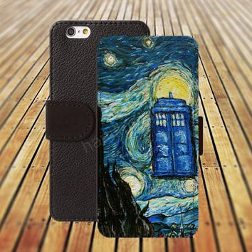 iphone 5 5s case tardis watercolor sun iphone 4/4s iPhone 6 6 Plus iphone 5C Wallet Case,iPhone 5 Case,Cover,Cases colorful pattern L256
