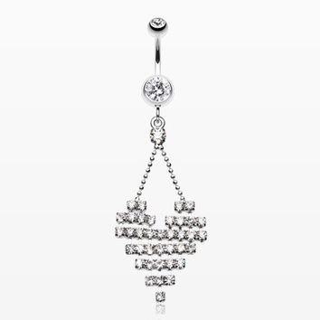 Dreamy Heart Belly Button Ring