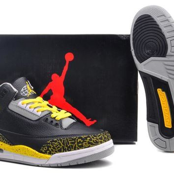 Air Jordan 3 Retro Aj3 318376 078 Men Basketball Shoes | Best Deal Online