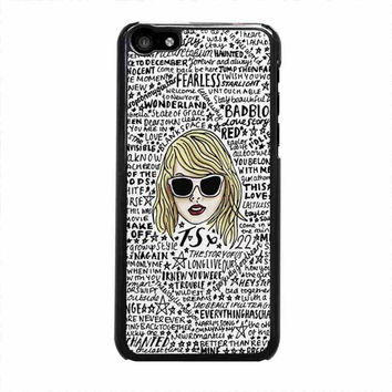 bad taylor swift iphone 5c 4 4s 5 5s 6 6s plus cases