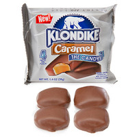 Klondike Caramel Ice Cream Candy Packs: 16-Piece Box