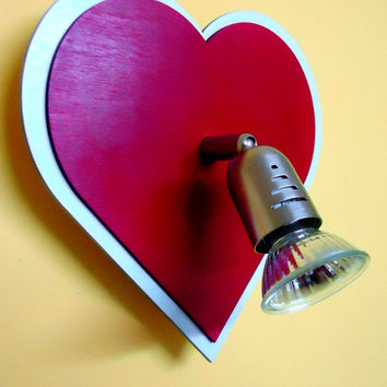 Lovely Heart lighting shape Decorative lighting, VALENTINES DAY GIFT made of wood laser cut